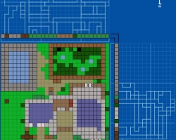 How to build houses in Minecraft using blueprints?