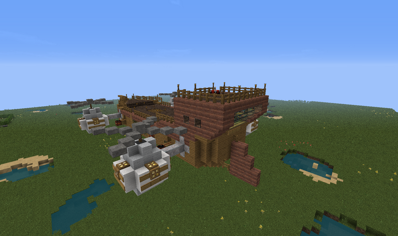 Airship - GrabCraft - Your number one source for MineCraft ...