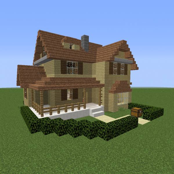 American suburban home 1 grabcraft your number one for Suburban house blueprints