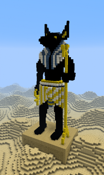 Anubis God Of The Dead Statue Grabcraft Your Number