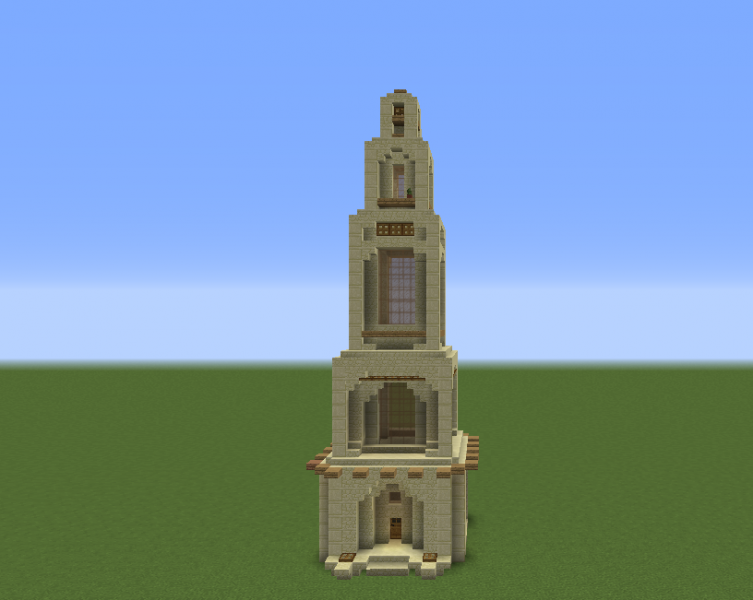 Arabic Desert Temple Tower GrabCraft Your Number One