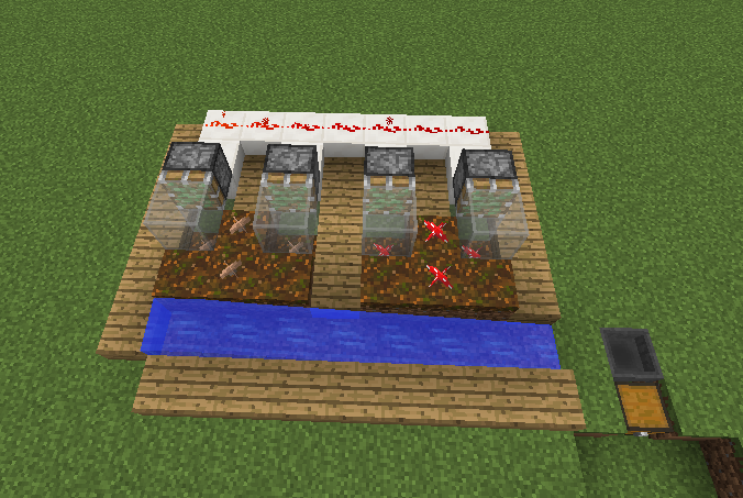 Automatic mushroom farm grabcraft your number one for How to build a blueprint
