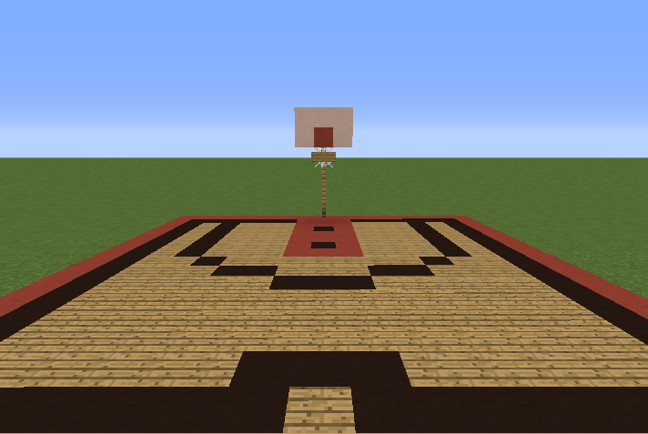 Basketball court 1 grabcraft your number one source for How big is a basketball court