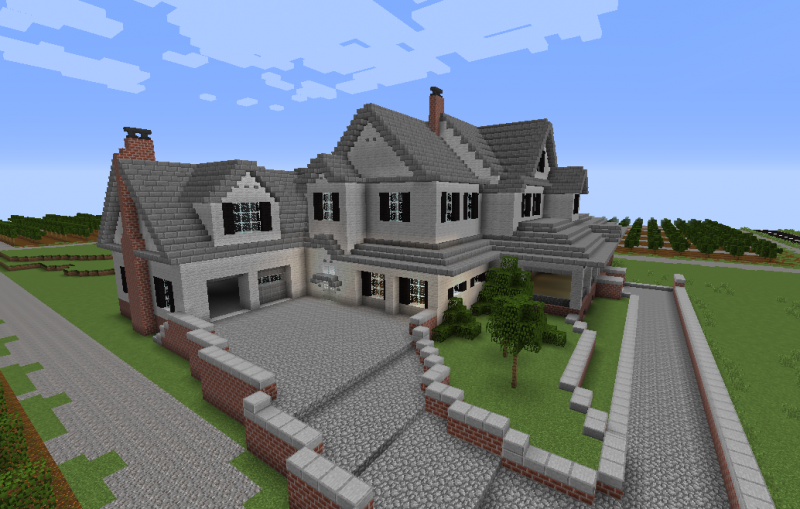 Big Countryside House Grabcraft Your Number One Source