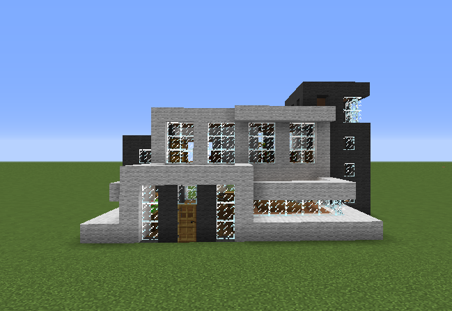 Black White Modern House Grabcraft Your Number One