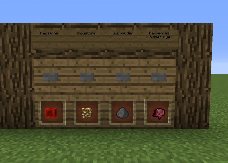 how to make a brewing station in minecraft