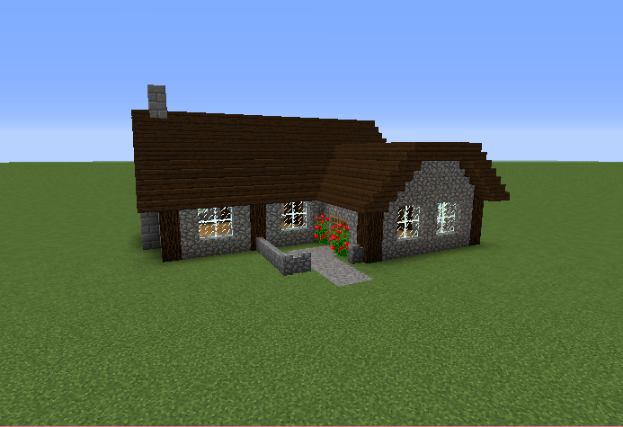 Cobblestone house grabcraft your number one source for for Cobblestone house