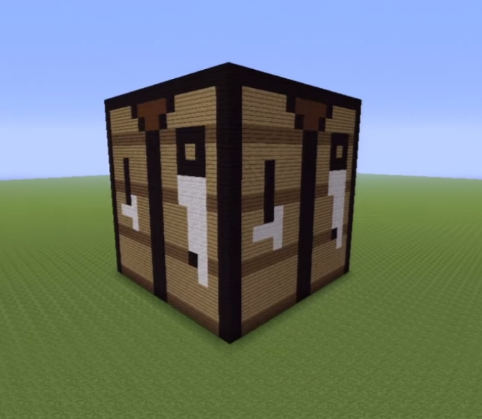 Crafting table statue grabcraft your number one source for minecraft buildings blueprints - Crafting table on minecraft ...