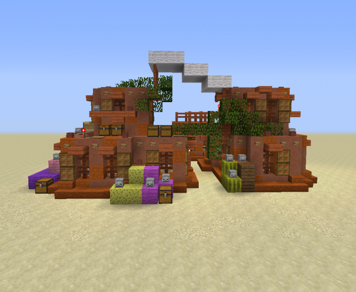Desert Oasis House 1 Grabcraft Your Number One Source