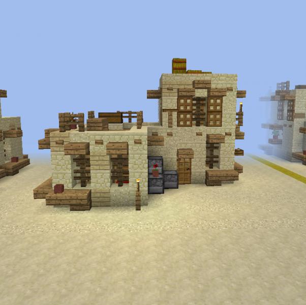 Desert Sandstone House 5 GrabCraft Your Number One