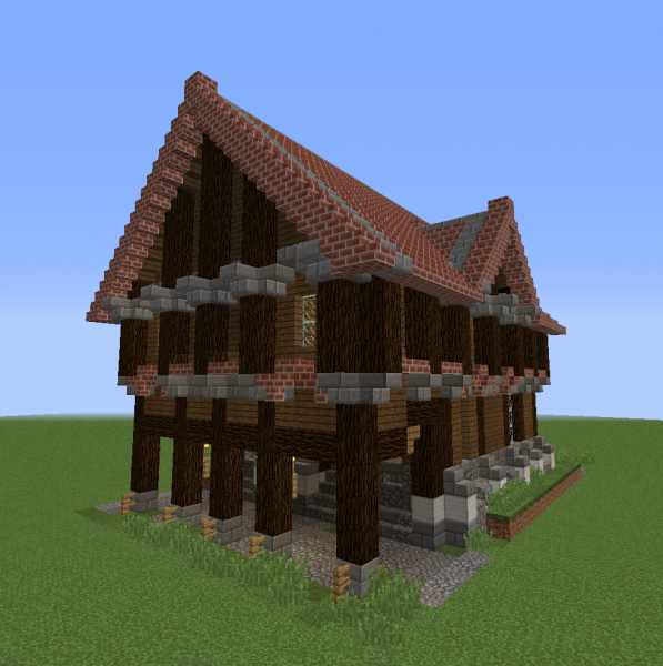 Detailed Medieval Rich House 1