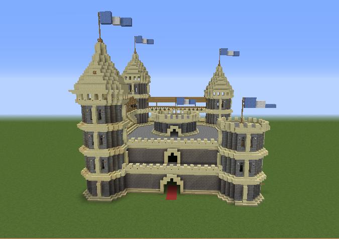 Stone Castle - Grabcraft