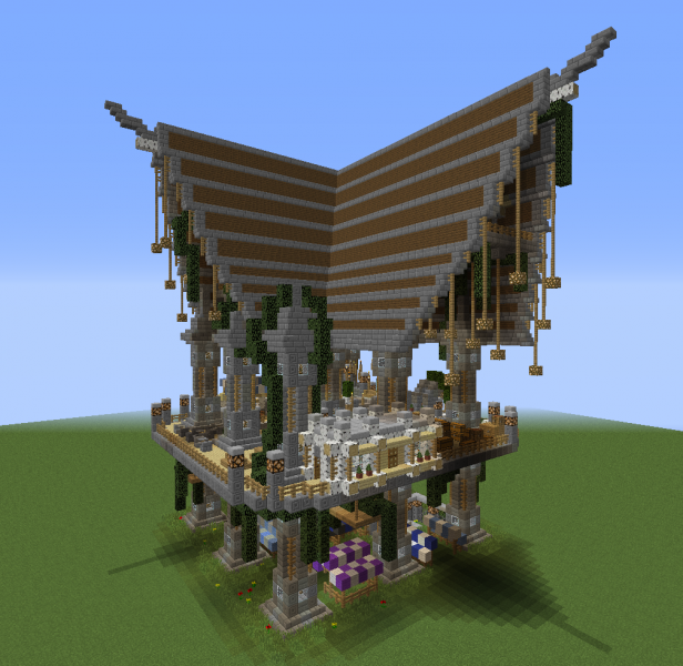 Fantasy Airship Station - GrabCraft - Your number one ...