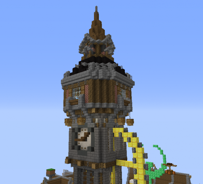 Fantasy Clock Tower Grabcraft Your Number One Source