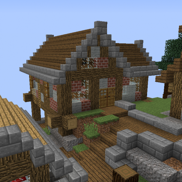 Fantasy Mountain Village House 3 - Grabcraft