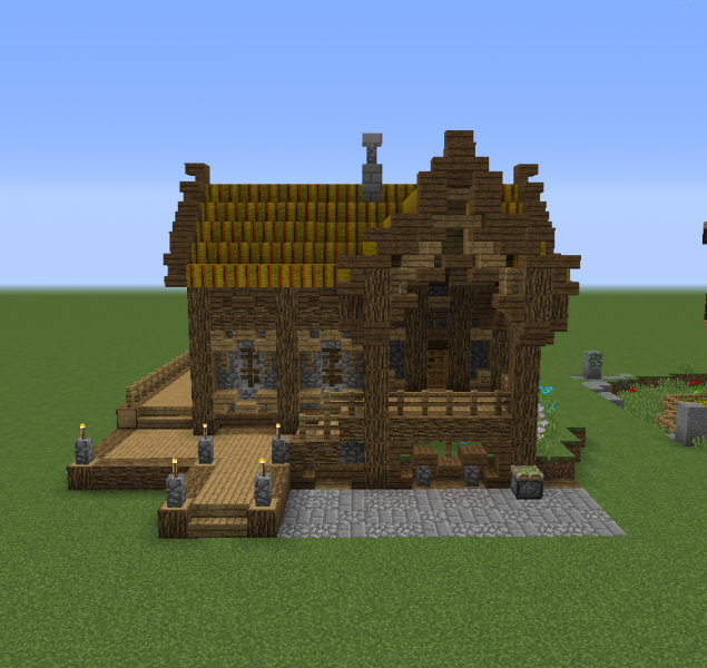 Fantasy Old Wooden House - GrabCraft - Your number one source for ...