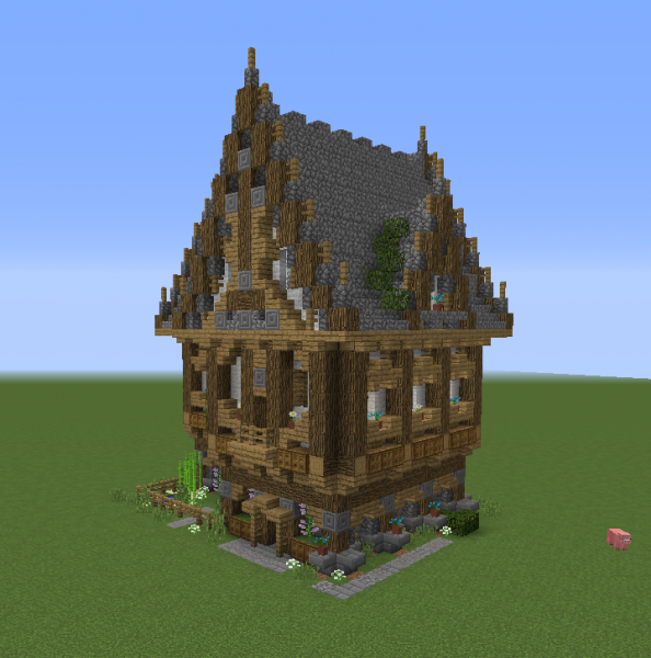 Fantasy Victorian House 1 Grabcraft Your Number One