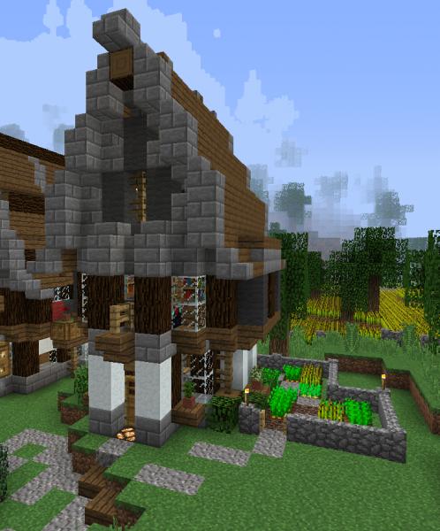 Fantasy Village House 2 - Grabcraft