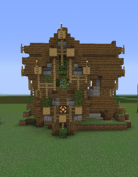 Fantasy Wooden House 1...