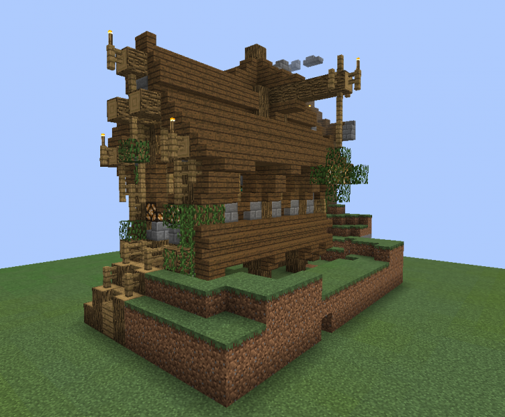 Fantasy Wooden House 1 GrabCraft Your Number One