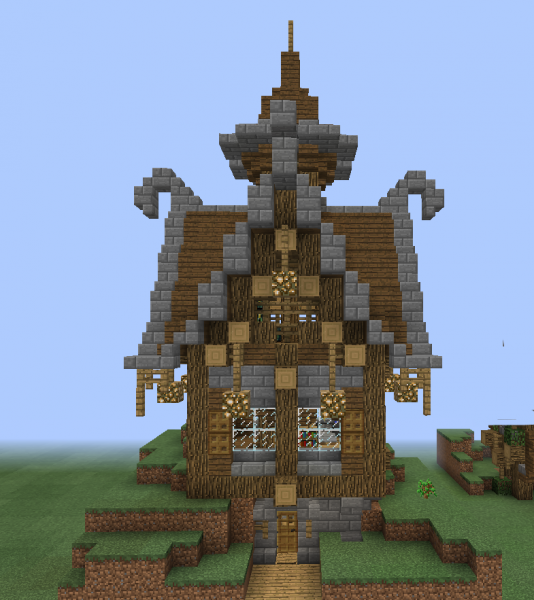 Fantasy Wooden House 2 GrabCraft Your Number One