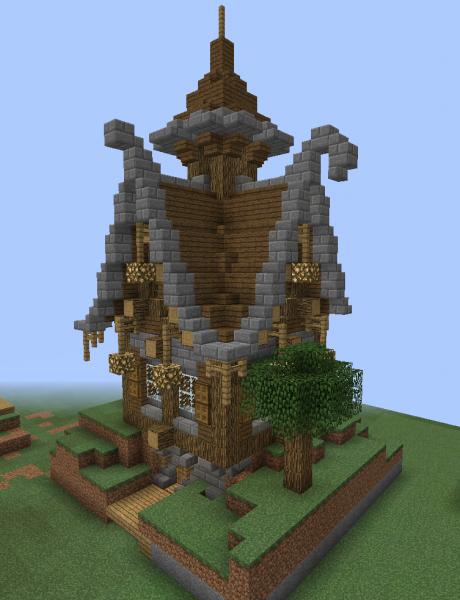 Fantasy Wooden House 2...