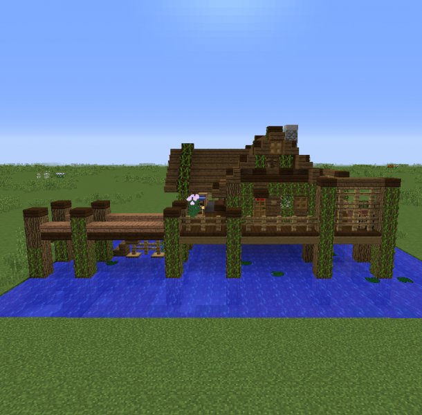 Fishing Village House 1 Grabcraft Your Number One