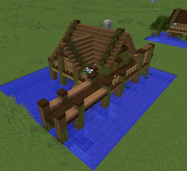 Fishing Village House 1 - Grabcraft