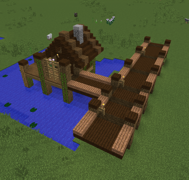 Fishing Village House 3 - Grabcraft