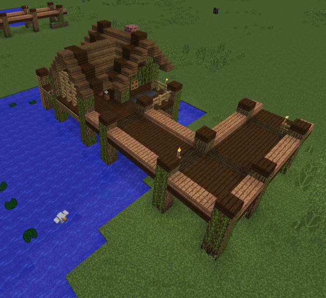 Fishing Village House 4 - Grabcraft