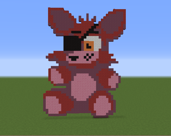 Foxy five nights at freddy s grabcraft your number one source
