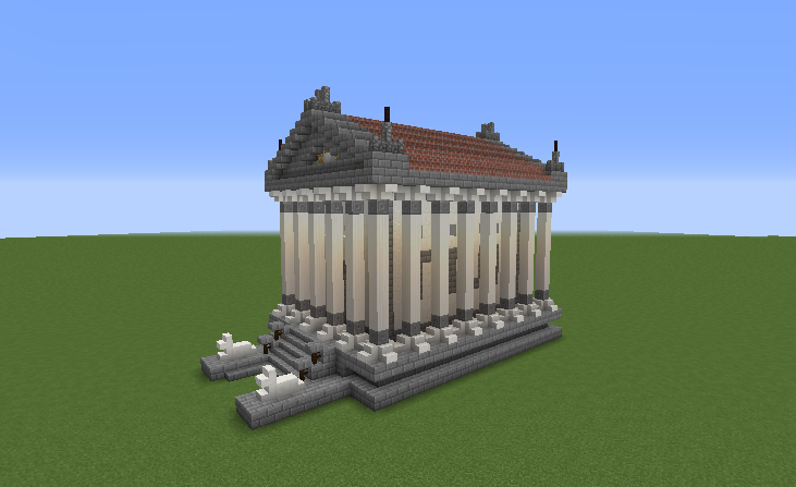 Greek Temple 1 Grabcraft Your Number One Source For