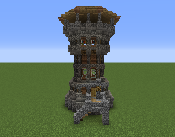Highland Dwarf Scout Tower GrabCraft Your Number One Source For MineCraft Buildings