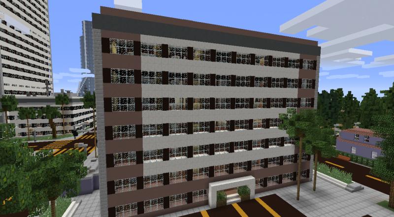 Huge office building 1 grabcraft your number one for Office building blueprints