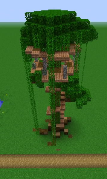 Jungle Treehouse - Grabcraft