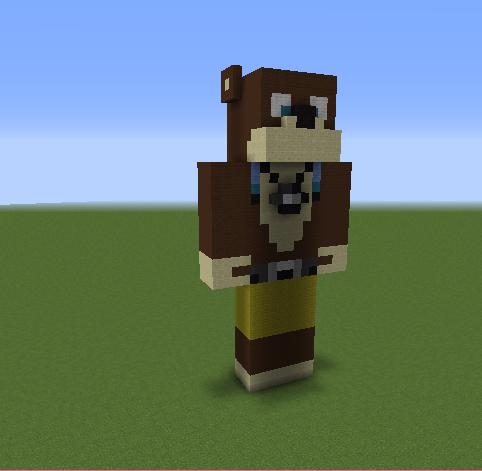 L For Lee Minecraft Channel L for Lee Statue - Gra...