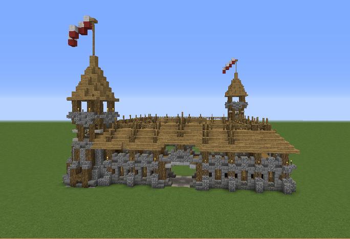 Medieval Barracks GrabCraft Your Number One Source For