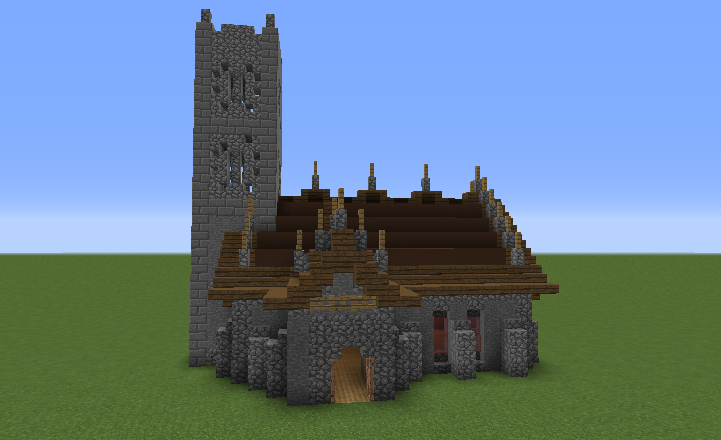 Medieval Church 2 Grabcraft Your Number One Source For