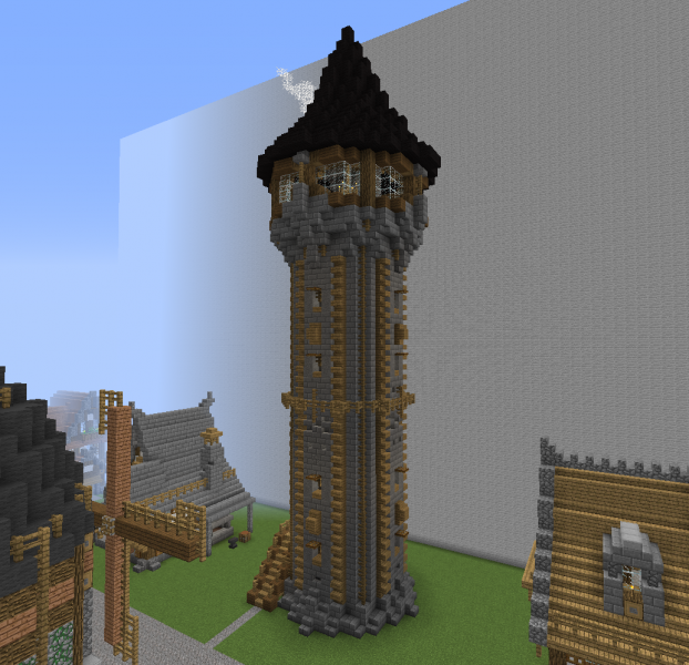 Medieval Community Alchemist Tower Grabcraft Your