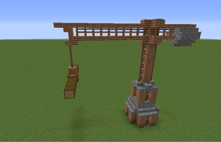 Wooden Crane - GrabCraft - Your number one source for