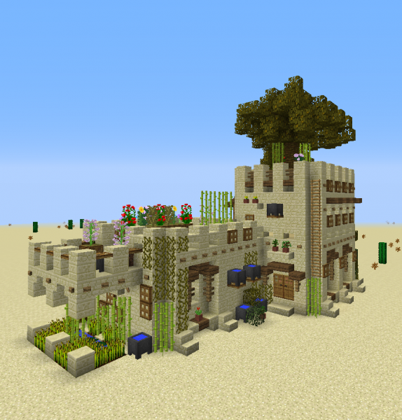 Medieval Desert House 2 GrabCraft Your Number One