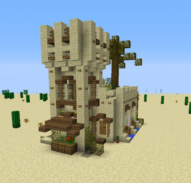 Medieval Desert House 3 GrabCraft Your Number One