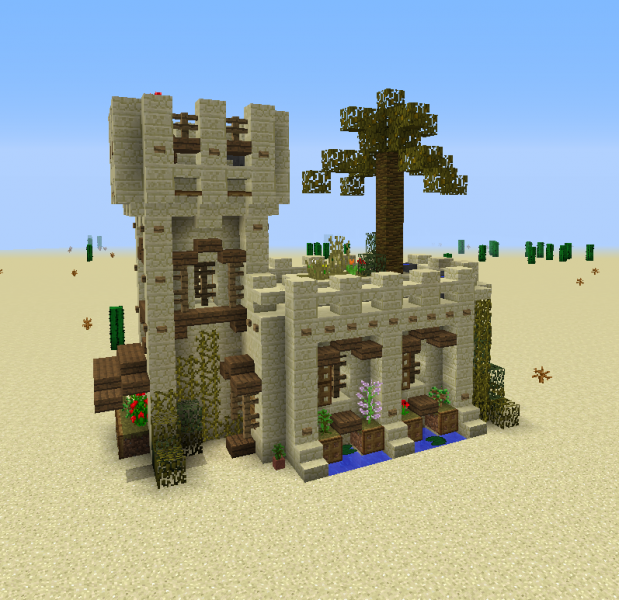 Medieval Desert House Grabcraft Your Number One