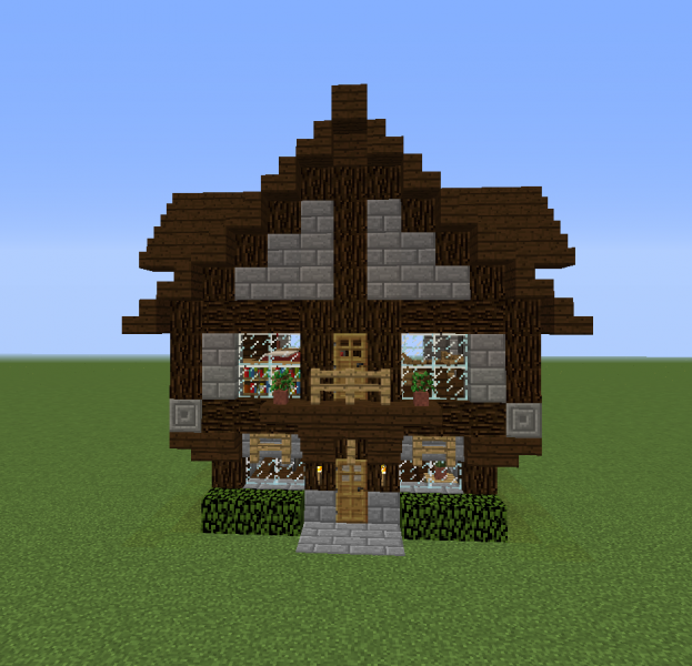 Medieval European Village House Grabcraft Your Number One Source For Minecraft Buildings