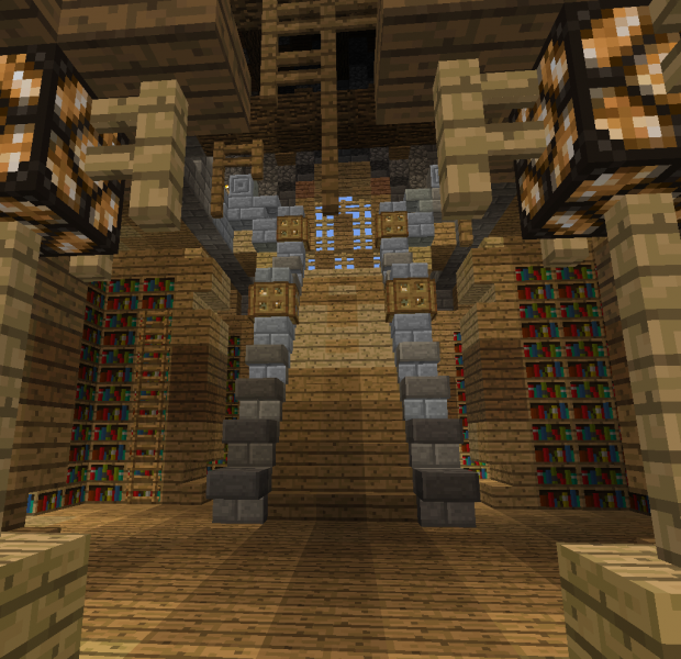 Medieval Fantasy Library Grabcraft Your Number One