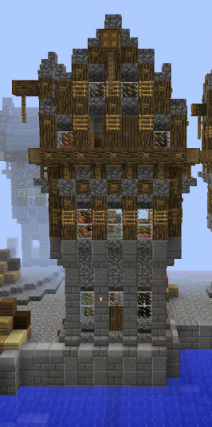 Cobblestone Minecraft House