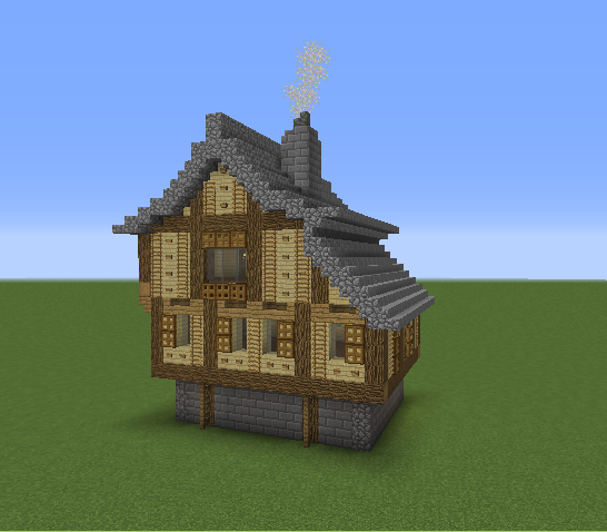 Gallery For Medieval House Minecraft Blueprints