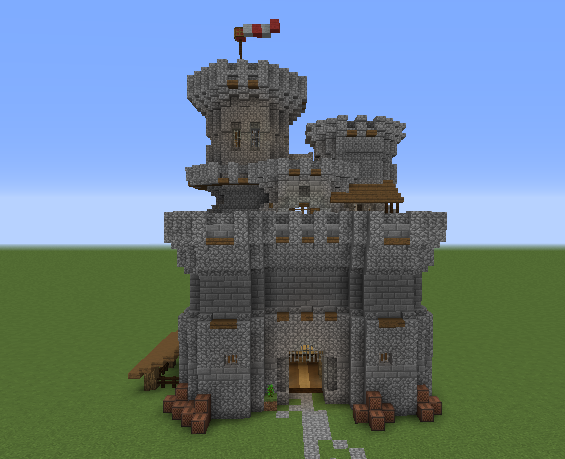 Medieval Keep Grabcraft Your Number One Source For