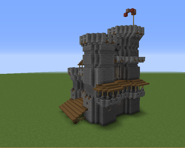 Medieval Keep  Castle - Grabcraft