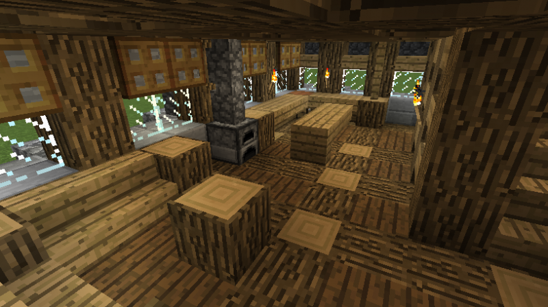 Medieval Rustic Log Cabin Grabcraft Your Number One
